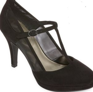 "Worthington ""Holly"" t-strap heels"